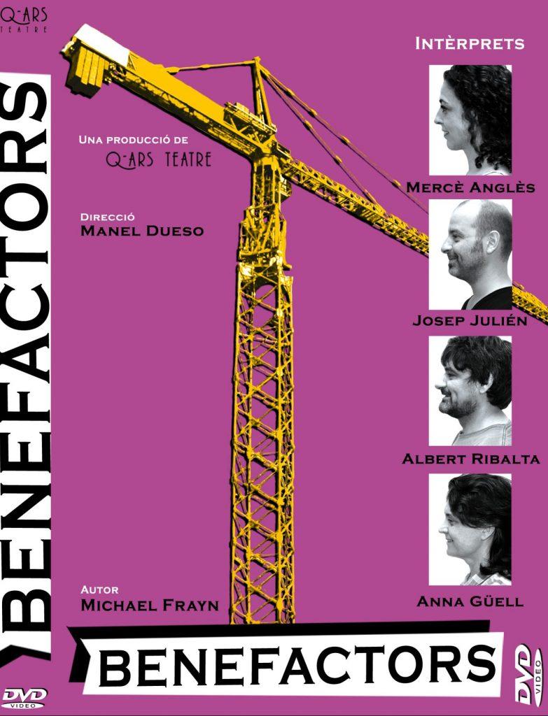 Q-ars Teatre, Cartell de Benefactors, Michael Frayn