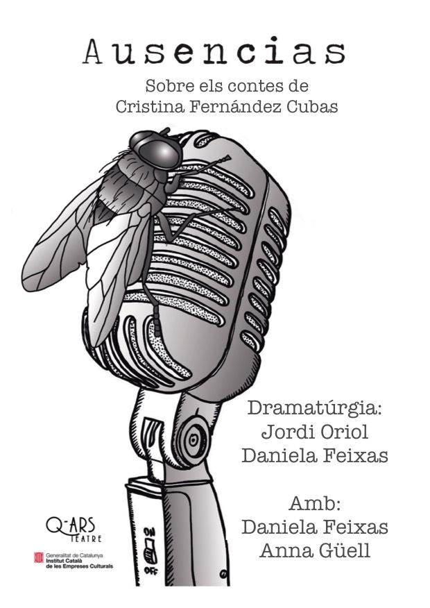 Q-ars Teatre, Cartell d'Ausencias, Cristina Fernández Cubas