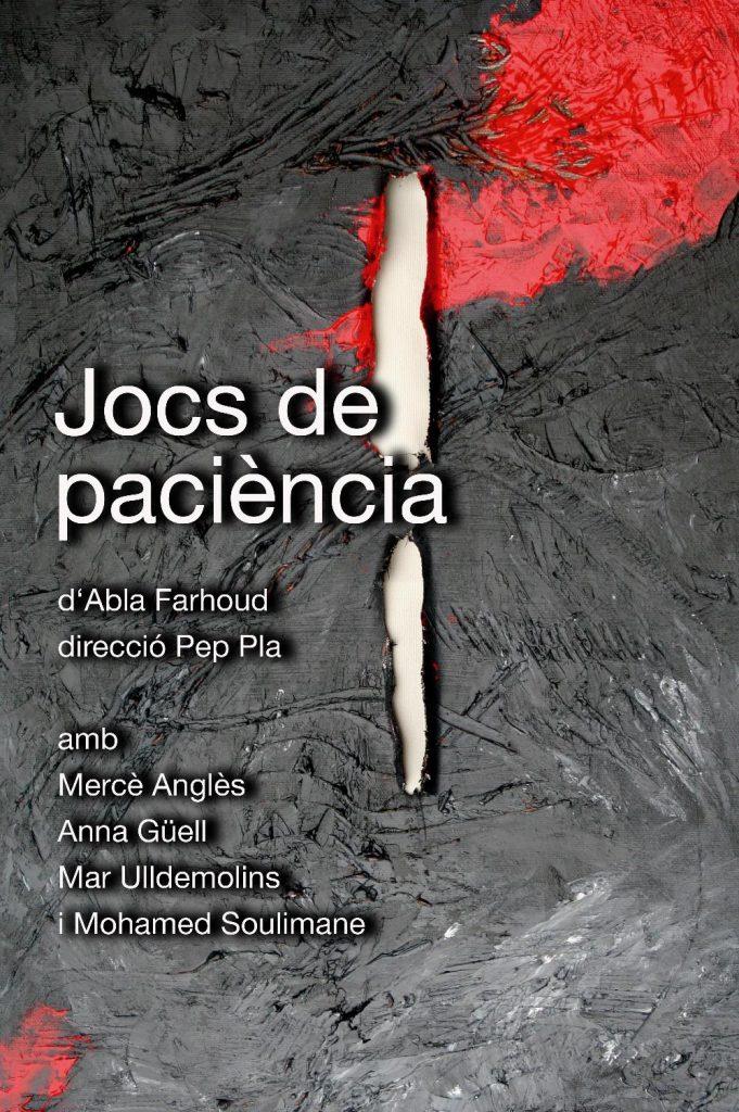 Q-ars Teatre, Cartell de Jocs de paciència, Abla Farhoud