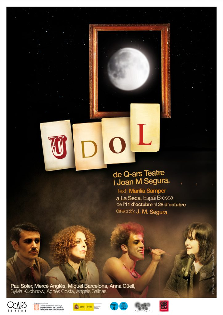 Q-ars Teatre, Cartell d'UDOL, Joan M. Segura, Marilia Samper